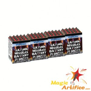 Saturn Missile 25 coups 4-pack